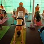 Yoga es sostener...