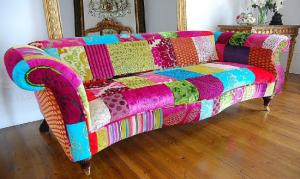 sofa pachwork