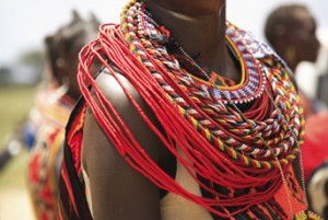 Abalorios Masai Africa