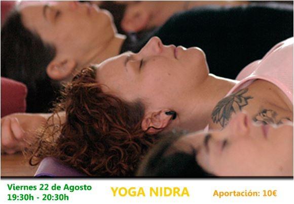 22 deAgosto de 2014 – Yoga Nidra