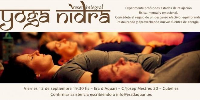 12 de Septiembre 2014- Yoga Nidra