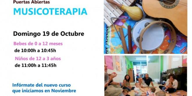 19 de Octubre – Día de la MUSICOTERAPIA (Puertas Abiertas)