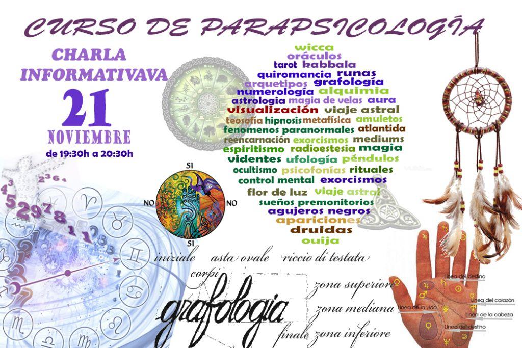 Charla Informativa Curso Parapsicologia