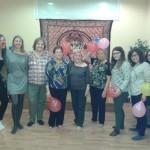Magnifico grupo de participantes