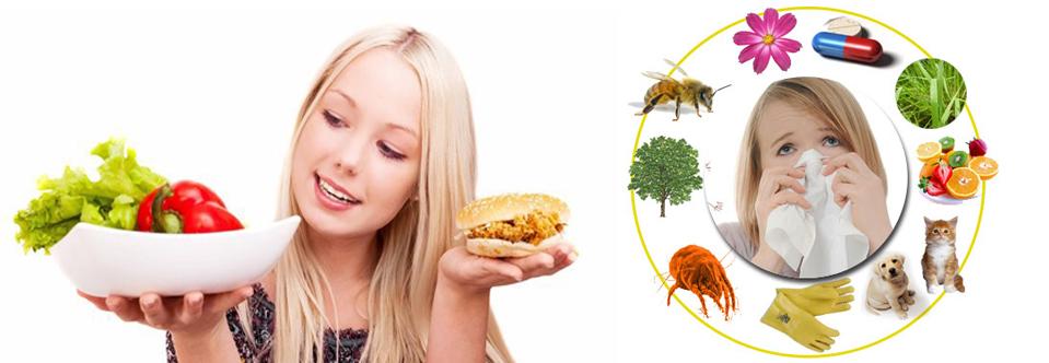 alimentación y alergias