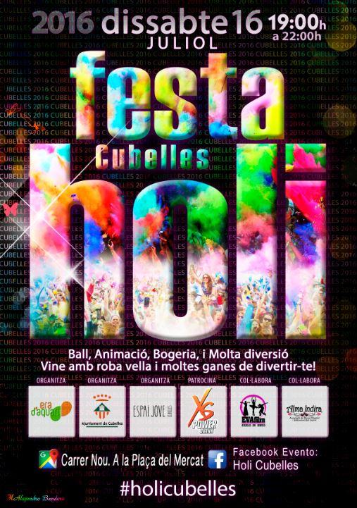 16 de Julio - Festa Holi Cubelles 2016
