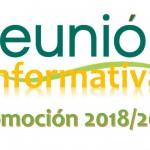 REUNION INFORMATIVA 2018