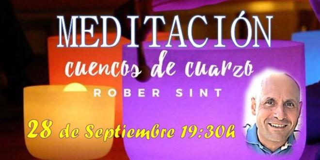28 de Septiembre 2018 – Meditación con Cuencos de Cuarzo